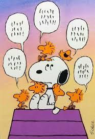 Snoopy listening